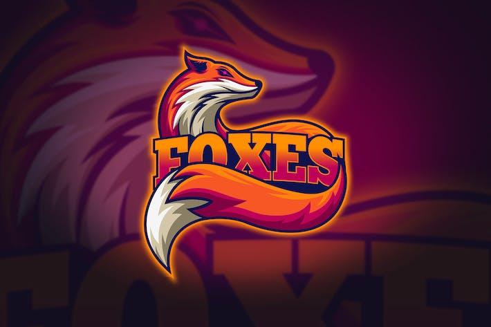 Thumbnail for Foxes - Mascot & Esport Logo