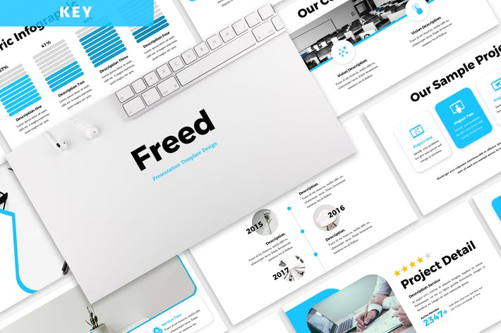 Freed - Business Keynote Template