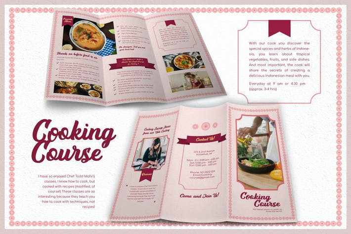 Thumbnail for Simply Funny Cooking Course - Brochure