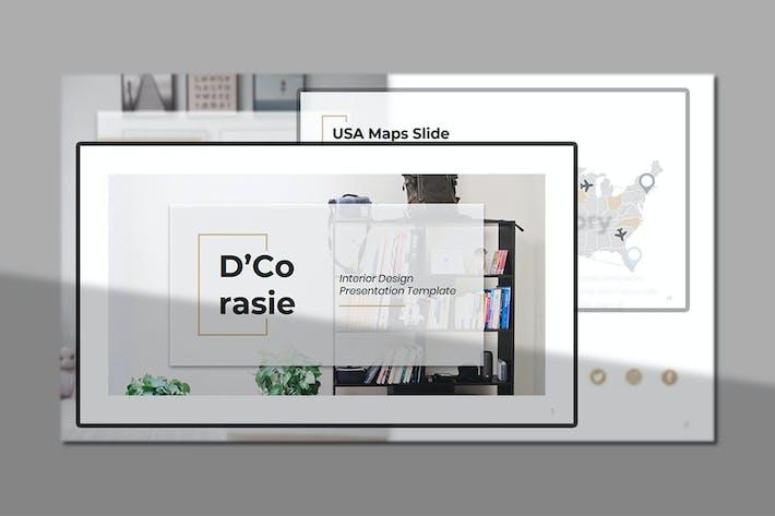 Thumbnail for D'Corasie – Interior Design  Keynote Template