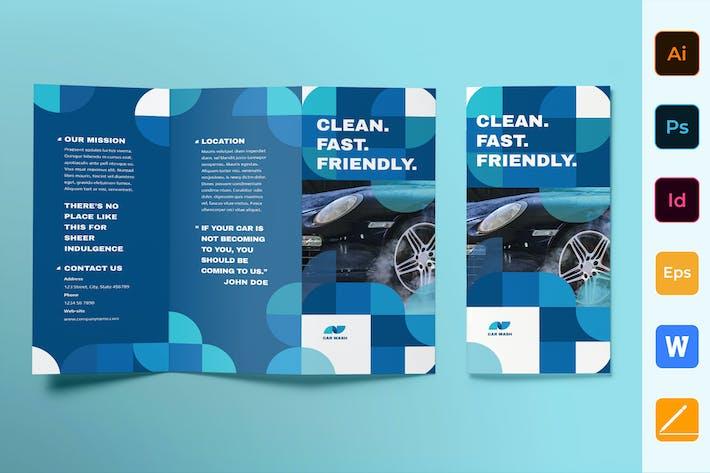 Thumbnail for Car Wash Brochure Trifold