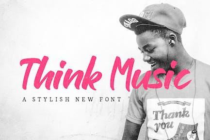 Think Music Font
