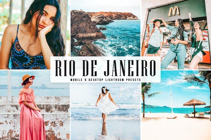 Thumbnail for Rio De Janeiro Mobile & Desktop Lightroom Presets