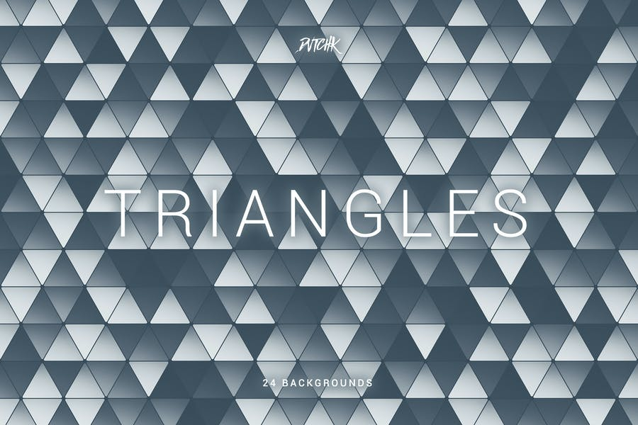 Triangles   Colorful Abstract Mosaic Backgrounds
