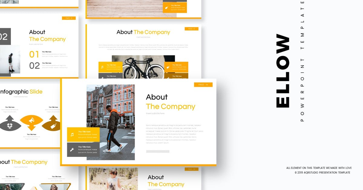 Download Ellow - Powerpoint Template by aqrstudio