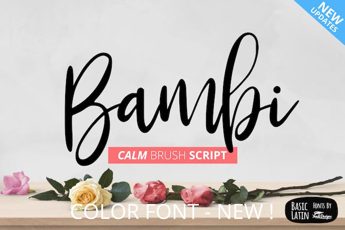 Thumbnail for Bambi Fonts