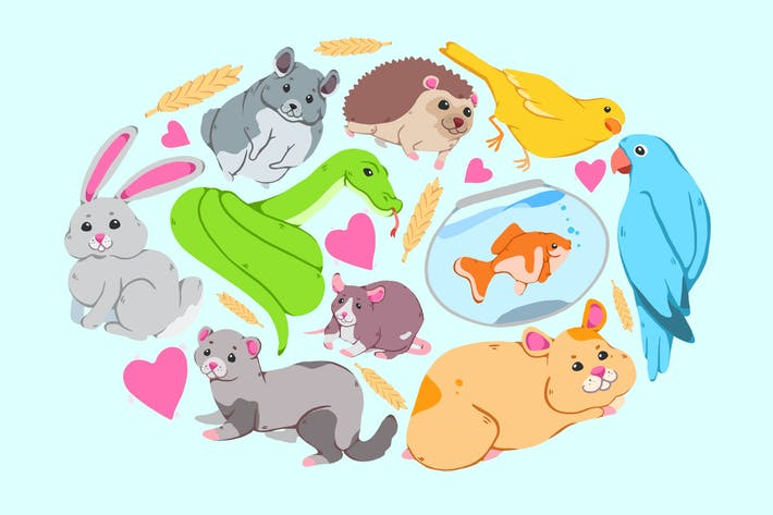 Thumbnail for Los animales más lindos clipart