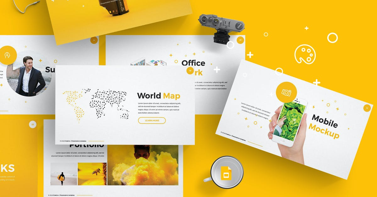 Creative Google Slide Template by Unknow