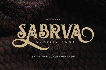 Sabrva - Fuente Vintage