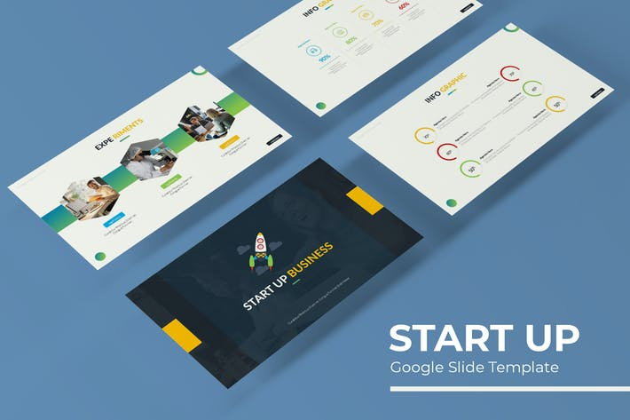 Thumbnail for Start Up - Google Slide Template