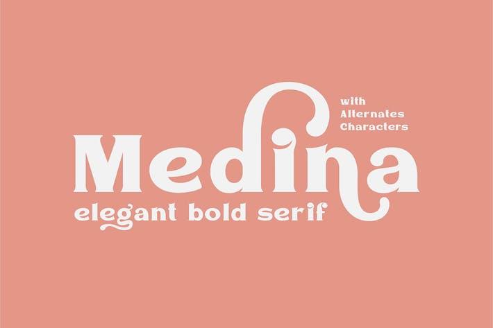 Thumbnail for Medina - Elegante Font Con serifa
