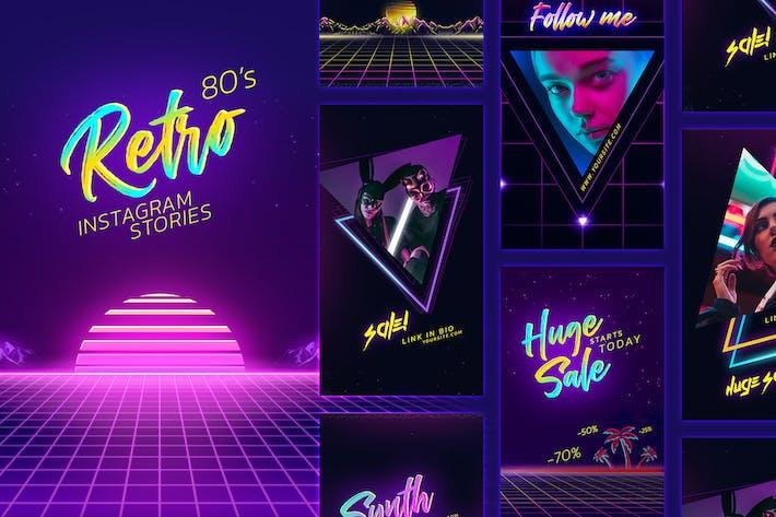 Thumbnail for 80s Retro Instagram Stories