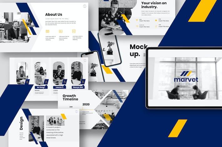 Thumbnail for Marvet - Business Marketing Keynote