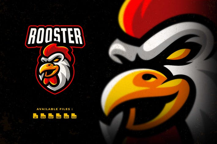 Thumbnail for Rooster Sport and Esport Logo