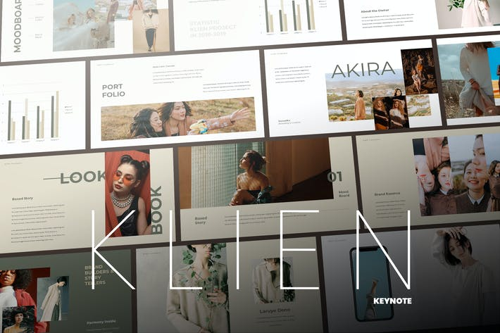 Thumbnail for Klien - Elegant Keynote Presentation