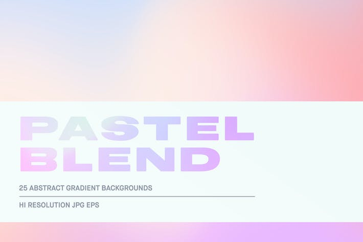 Thumbnail for Pastel Blend - Gradient Backgrounds