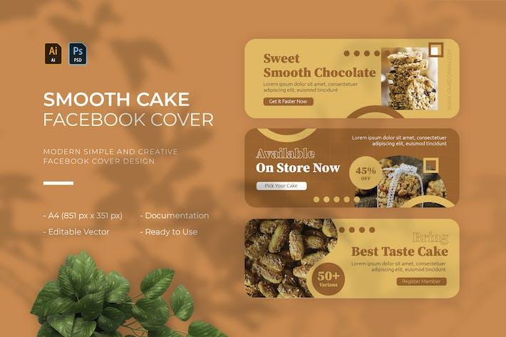 Smooth Cake | Facebook Cover