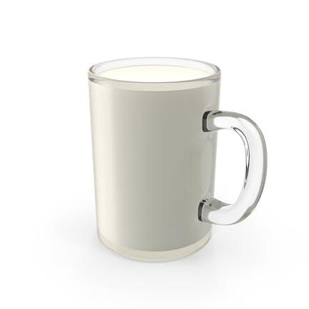Glas Tasse Milch