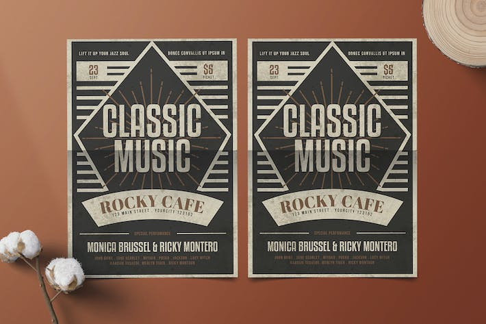 Thumbnail for Classic Music Flyer