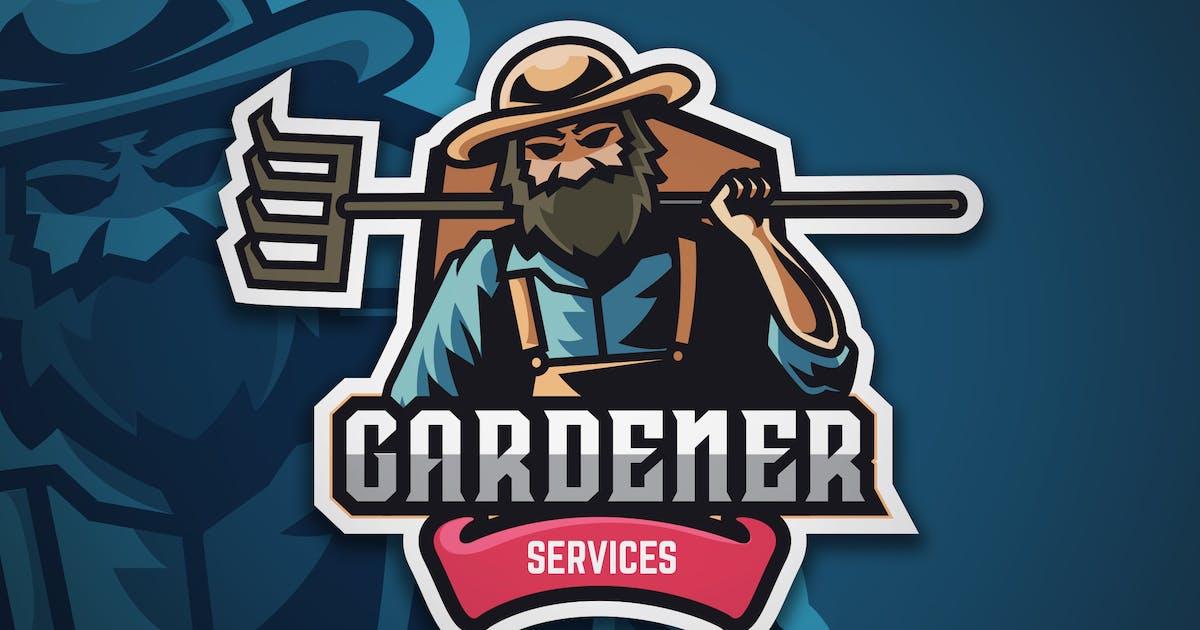 Download Gardener Logo Badge Vector Template by naulicrea