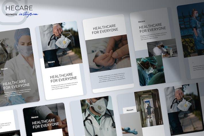 Thumbnail for Hecare - Medical Instagram Keynote
