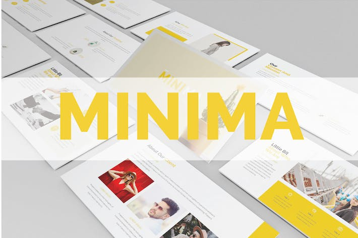 Thumbnail for Minima Presentation - Powerpoint Template