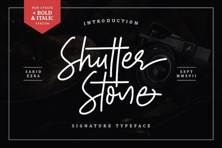 Cover Image For Shutter Stone - Signature Script
