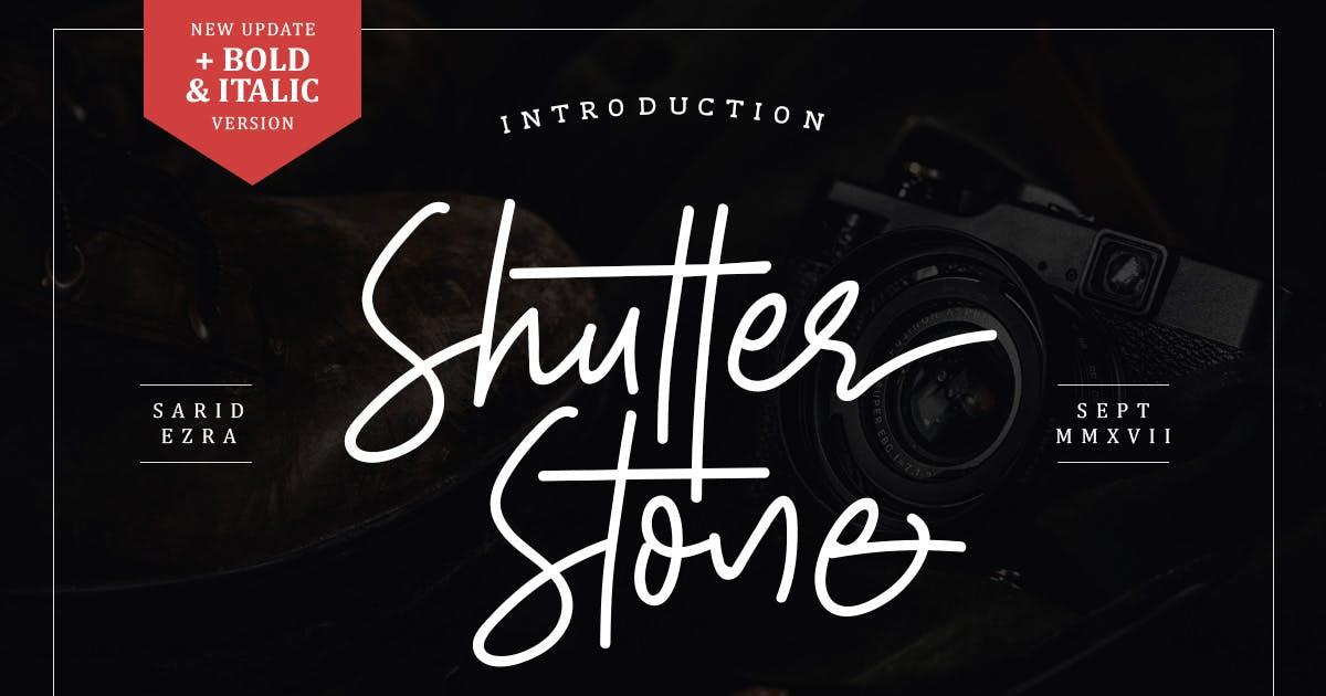 Shutter Stone - Signature Script by saridezra