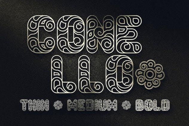Conello - Display Font