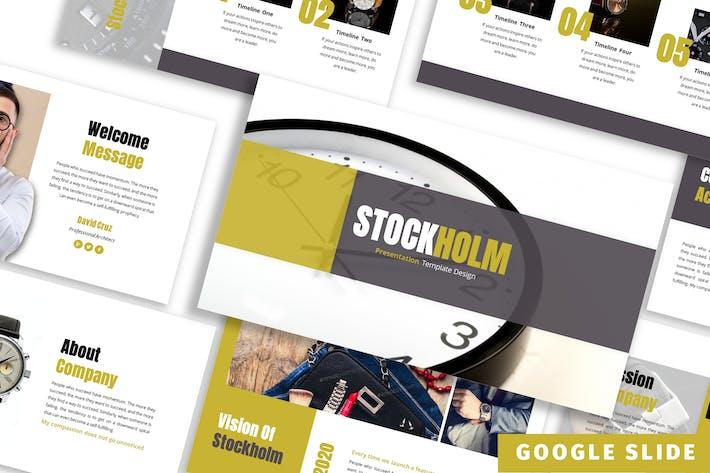 Thumbnail for Stockholm - Business Google Slide Template