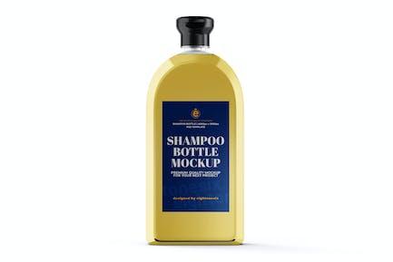 Shampoo Bottle Mock-Up Template
