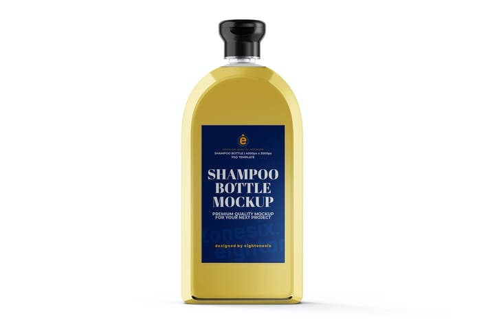 Thumbnail for Shampoo Bottle Mock-Up Template