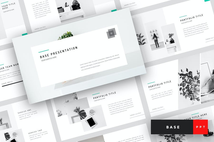 Base - Minimal PowerPoint Template