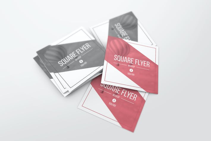Thumbnail for Square Flyer Mockups