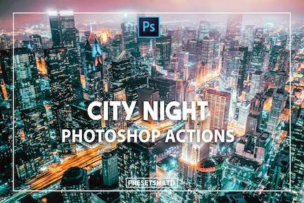 City Night Photoshop Action