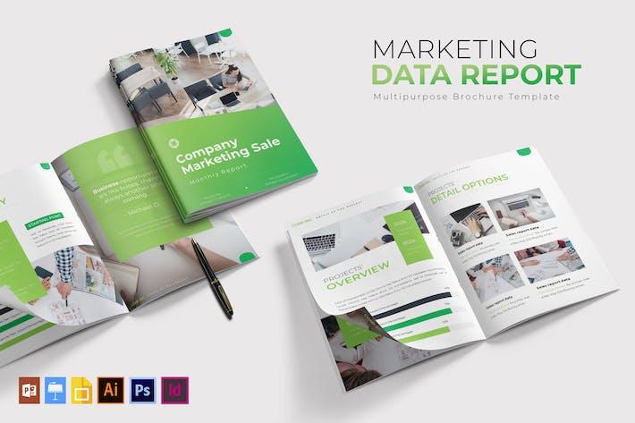 Thumbnail for Marketing   Brochure Template