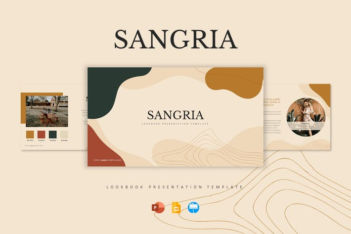 Thumbnail for Sangria - Шаблон презентации