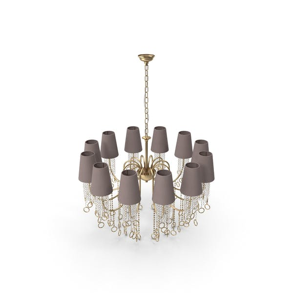 Thumbnail for Classic Crystal  Art Deco Chandelier