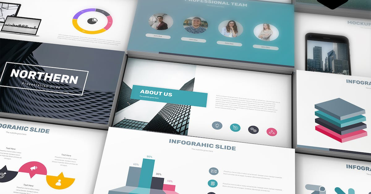 Download Northern - Google Slide Template by aqrstudio