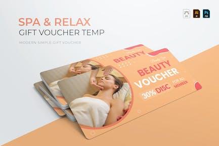 Spa & Relax   Geschenkgutschein
