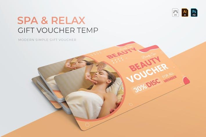 Spa & Relax | Gift Voucher