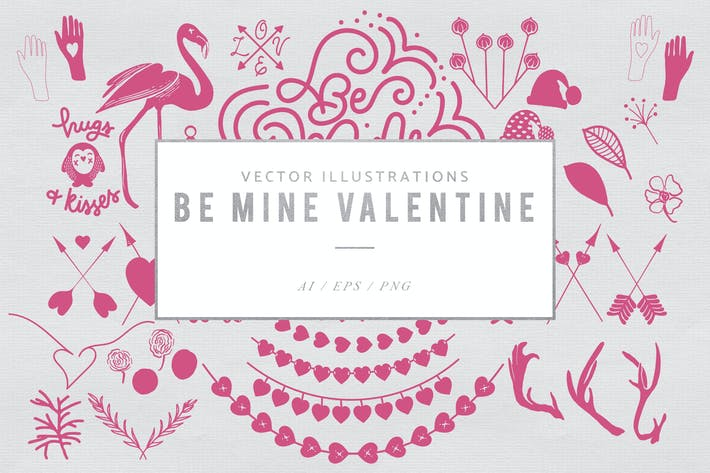 Thumbnail for Be Mine Valentine Graphics