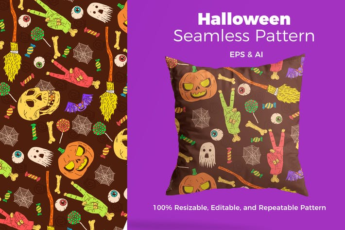 Thumbnail for Halloween Pattern
