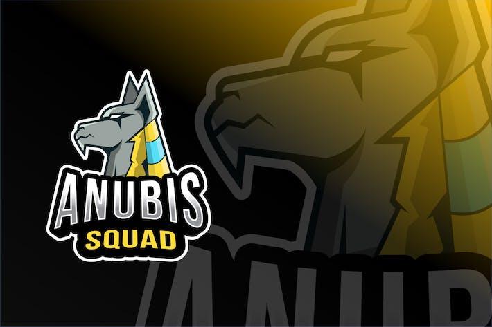 Thumbnail for Anubis Squad Esport Logo Template