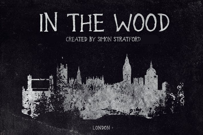 Thumbnail for In the wood font