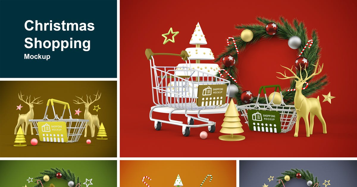 Download Christmas shopping by QalebStudio