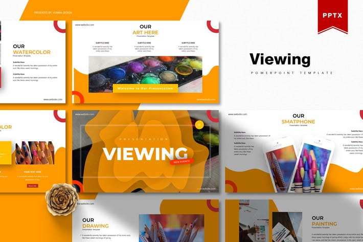 Thumbnail for Viewing | Powerpoint Template