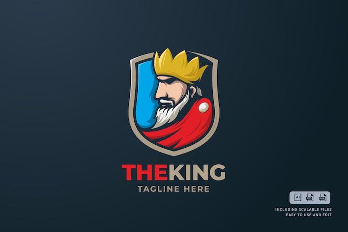 The King - Logo Design Template