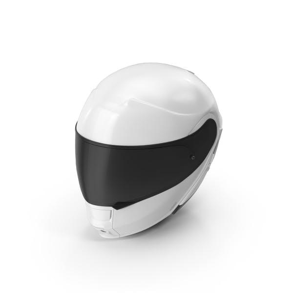 Thumbnail for White Racing Helmet