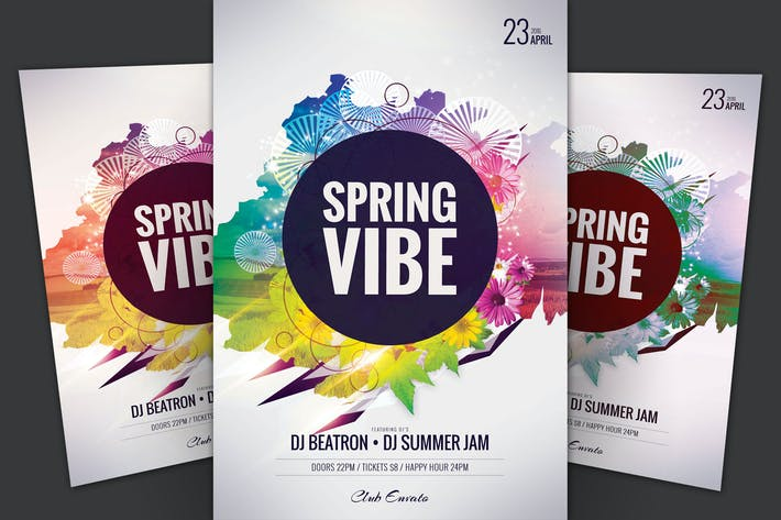 Thumbnail for Spring Vibe Flyer